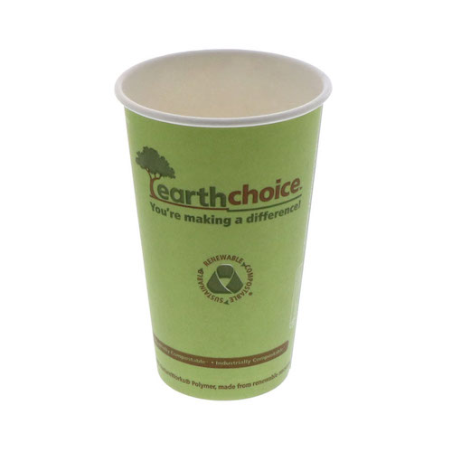 EarthChoice Paper Print Hot Cup - 16 oz - DPHC16EC
