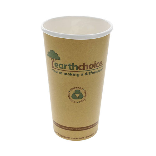 EarthChoice Paper Print Hot Cup - 20 oz - DPHC20EC