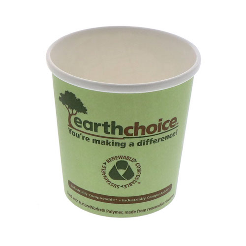 EarthChoice Paper PLA Lined Soup Cup - 16 oz - PHSC16ECDI