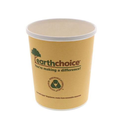 EarthChoice Paper PLA Lined Soup Cup - 32 oz - PHSC32ECD