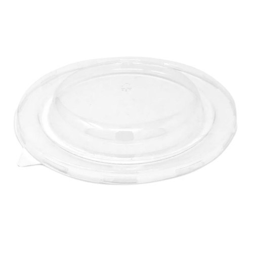 BeGreen PET Clear Dome Lid for Round Bowl - 32 oz - BG-B032-FPL - 500/Case