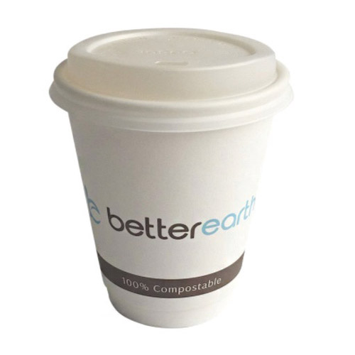 BetterEarth Paper PLA Lined Double Wall Cup - 12 oz - BE-DWHC12PLA