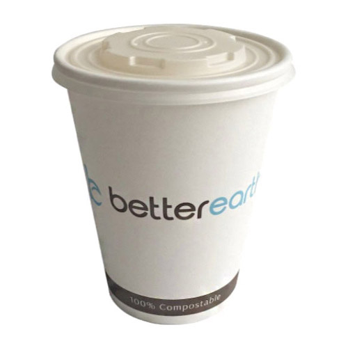 BetterEarth Paper PLA Lined Food Container - 32 oz - BE-SC32PLA