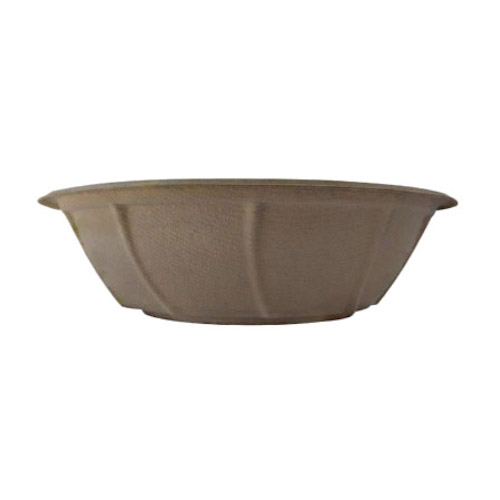 BetterEarth Fiber Bamboo Round Bowl - 32 oz - BE-FRB32EB