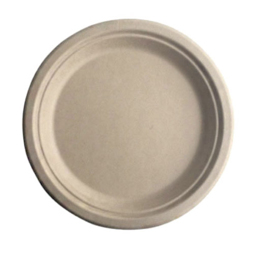 "BetterEarth Fiber Bamboo Round Plate - 6"" - BE-FRP6EB"