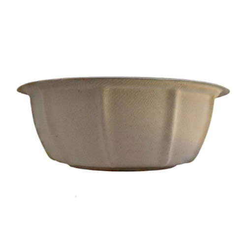 BetterEarth Fiber Bamboo Round Bowl - 48 oz - BE-FRB48EB