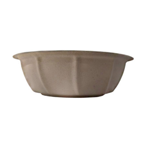 BetterEarth Fiber Bamboo Round Bowl - 40 oz - BE-FRB40EB