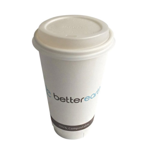 BetterEarth Paper PLA Lined Double Wall Cup - 20 oz - BE-DWHC20PLA