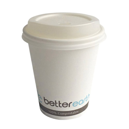 BetterEarth Paper PLA Lined Single Wall Cup - 8 oz - BE-HC8PLA