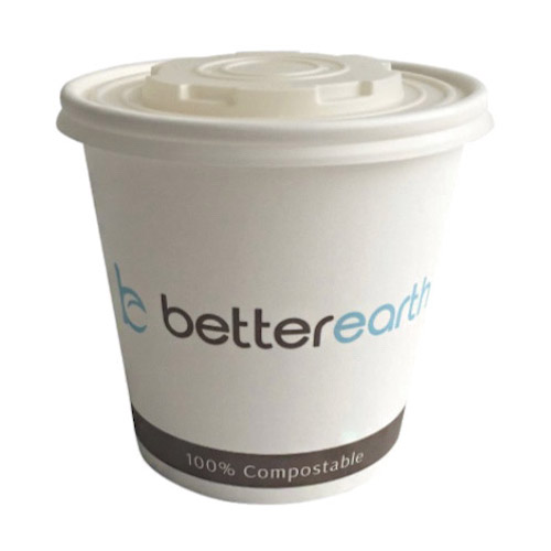 BetterEarth Paper PLA Lined Food Container - 24 oz - BE-SC24PLA