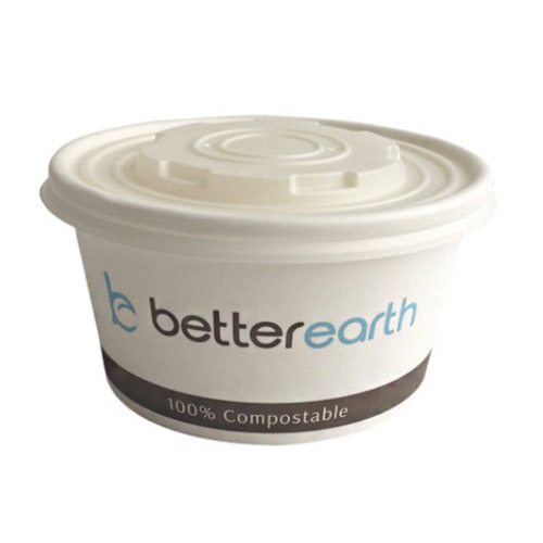 BetterEarth Paper PLA Lined Food Container - 16 oz - BE-SC16PLA