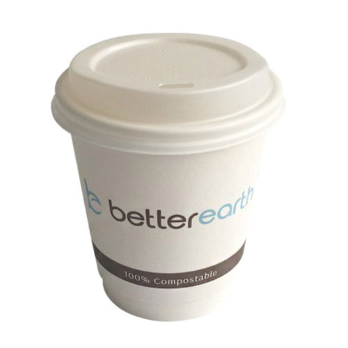 BetterEarth Paper PLA Lined Double Wall Cup - 8 oz - BE-DWHC8PLA