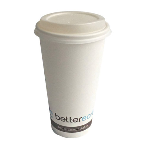 BetterEarth Paper PLA Lined Single Wall Cup - 16 oz - BE-HC16PLA