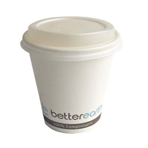 BetterEarth Paper PLA Lined Single Wall Cup - 10 oz - BE-HC10PLA