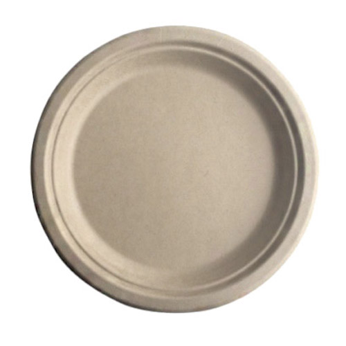 "BetterEarth Fiber Bamboo Round Plate - 9"" - BE-FRP9EB"