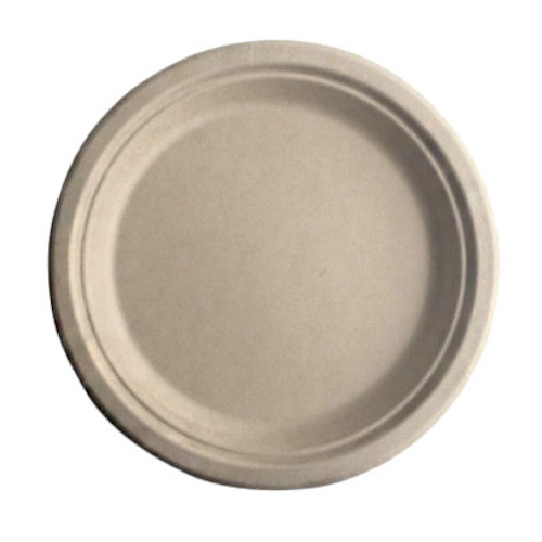 "BetterEarth Fiber Bamboo Round Plate - 7"" - BE-FRP7EB"