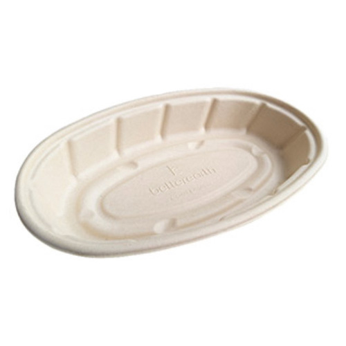 BetterEarth Fiber Bamboo Oval Bowl - 24 oz - BE-FOB24EB