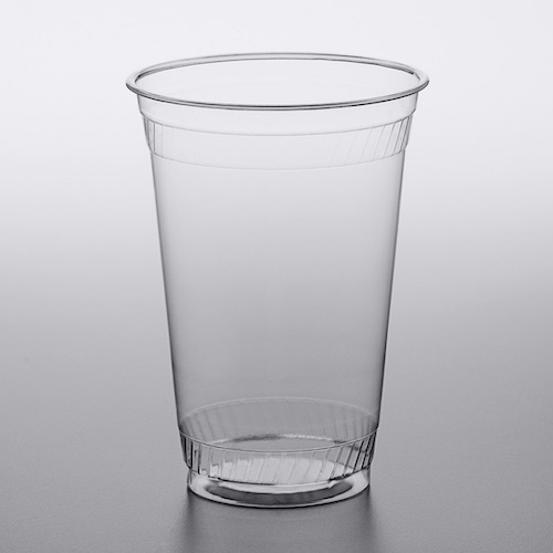 Compostable Custom Printed Plastic Cup Fabri-Kal Greenware GC20NT 20 oz