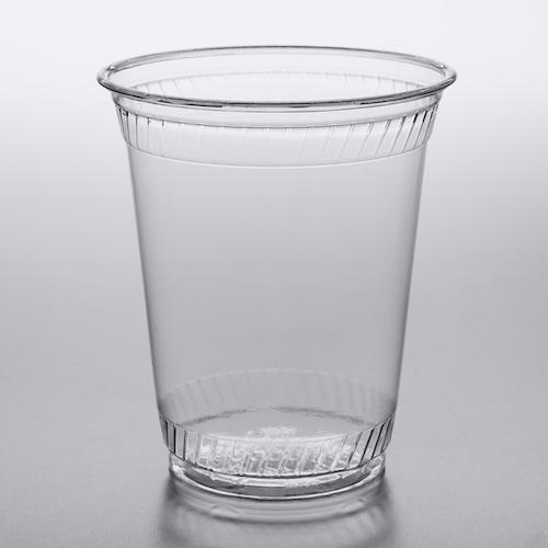Compostable Custom Printed Plastic Cup Fabri-Kal Greenware GC12S 12 oz