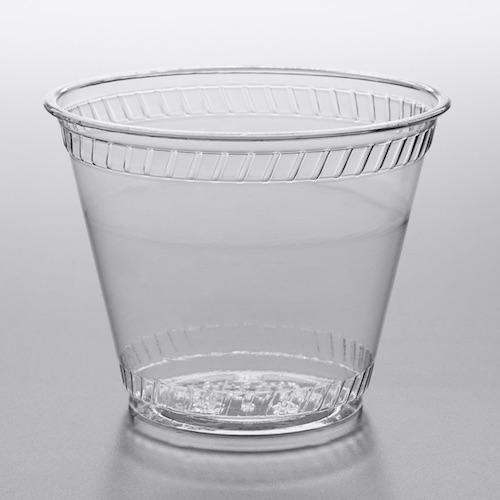 Compostable Custom Printed Plastic Cup Fabri-Kal Greenware GC9OF 9 oz
