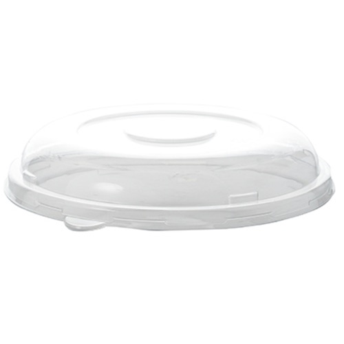"Conserveware PETE Clear Dome Lid for Round Bowl - 24-40 oz - 8"" - 42RBL"