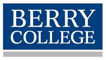 Berry College mark