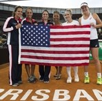 2016 Fed Cup: USA vs. Australia Action