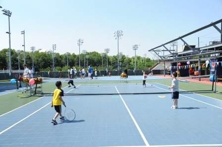 DeckZone Unveiled at National Tennis Center