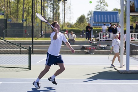 2012 Tennis on Campus National Championship: Day 1 Action