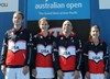 Team USA made its international debut at the 2014 Australian Championships.