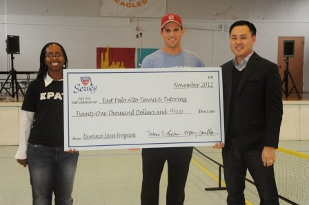 USTA Serves, Esurance and Mike Bryan Team Up