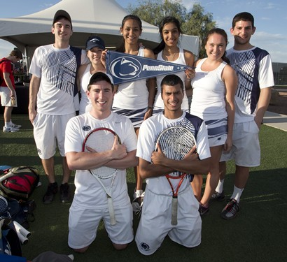 2013 Tennis On Campus Nationals - Team Fun