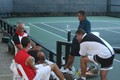 USTA coaches with Halebian