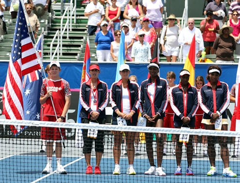 2013 Fed Cup U.S. vs. Sweden Day 1