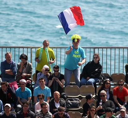 2012 Davis Cup: USA vs. France Day 1