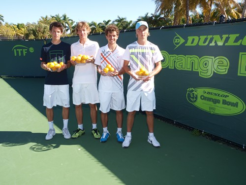 Boys 18s Doubles Finalists