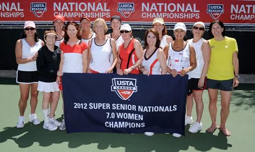 USTA League Super Seniors: Week 2 Awards