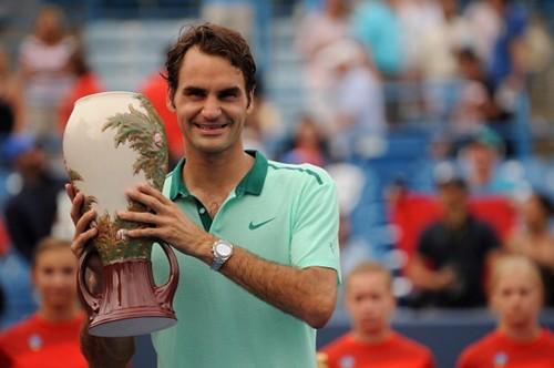 Cincinnati Federer trophy