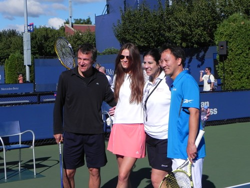 Tennis Briefs Michael Chang Celebrate Fathers Day In Usta Style