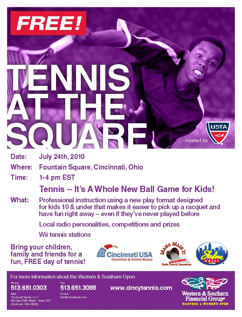 Tennis at the Square