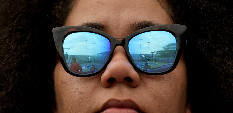 Fan sunglasses by Charlie Baglan 1