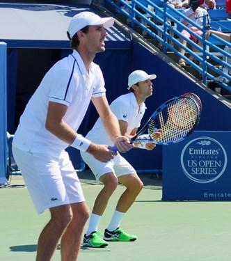 [6] Marcin Matkowski (Poland) / Nenad Zimonjic (Serbia) vs. Daniel Nestor (Canada) / Edouard Roger-V