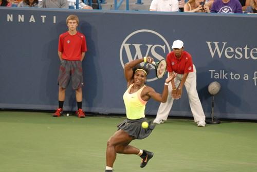 [1] Serena Williams (USA) vs. [14] Elina Svitolina (Ukraine)
