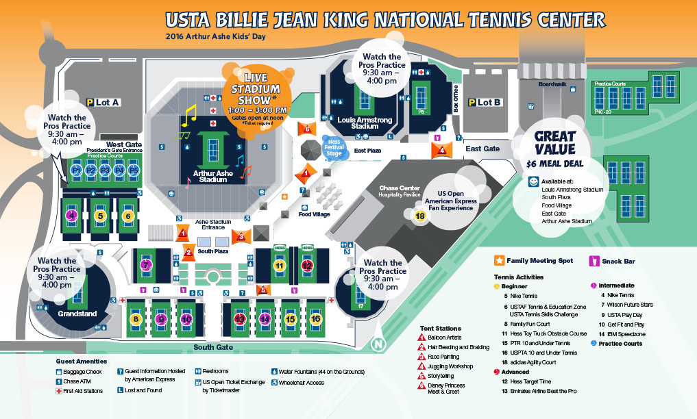 Us Open Tennis Center Map Phoneninja - Us-open-tennis-center-map