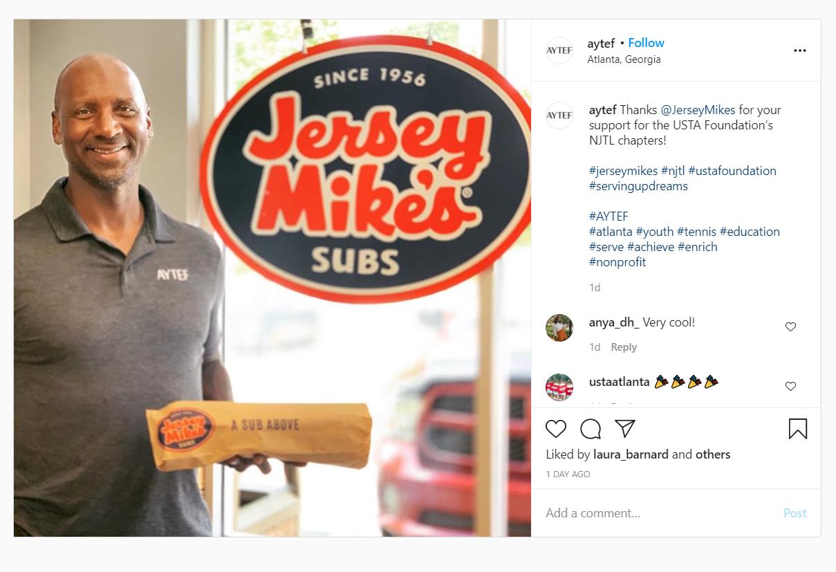Jersey Mike's Sept 12, 2020 Celebration