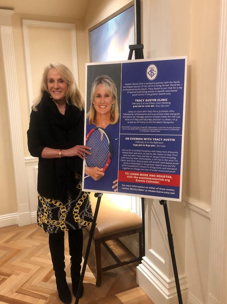Tracy Austin - 2020 Fed Cup Cover Photo