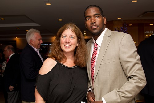 Terri Florio & MaliVai Washington Kids Foundation Graduate Marc Atkinson