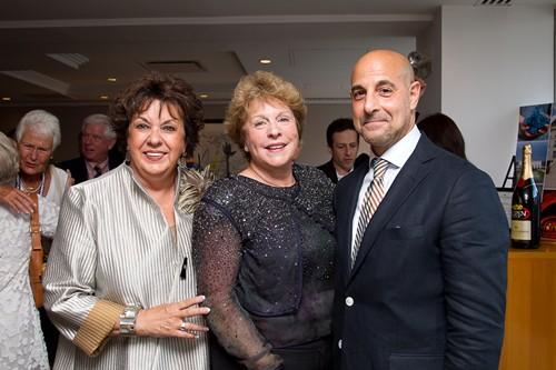 Debbie Phelps, Deborah Larkin, Stanley Tucci