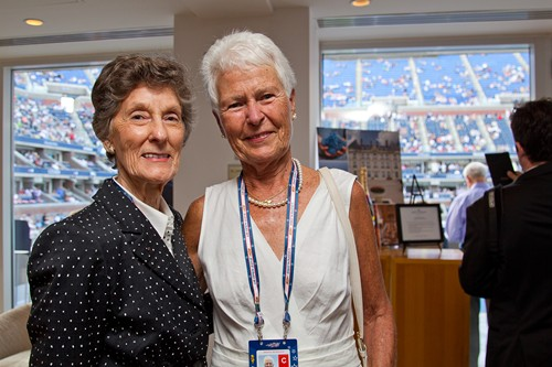 Peggy Woolard & Judy Levering