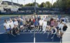 Participants in the 2021 USTA Foundation US Open pro-am.